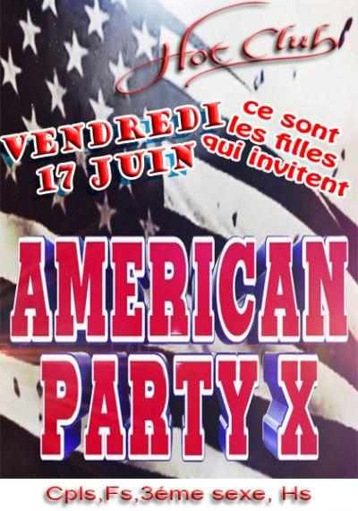 Soirée Américan Party X