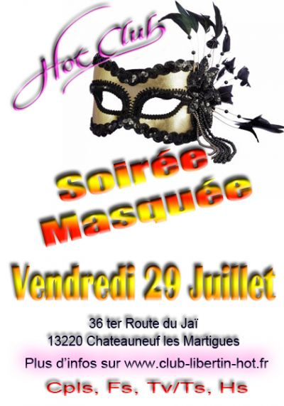 SOIREE MASQUEE