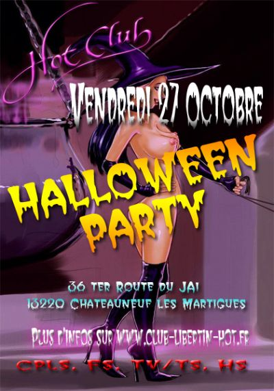 Soirée Halloween party