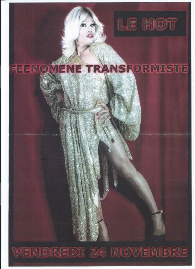 SOIREE TRANSPARENCE AVEC  FEENOMENE EN SPECTACLE