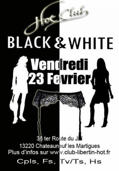 Soirée Black et White