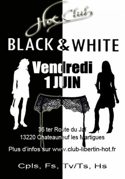 Soirée black § white