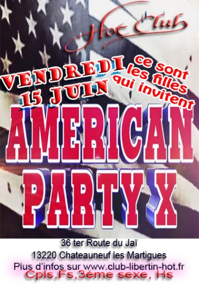 Soirée american party X