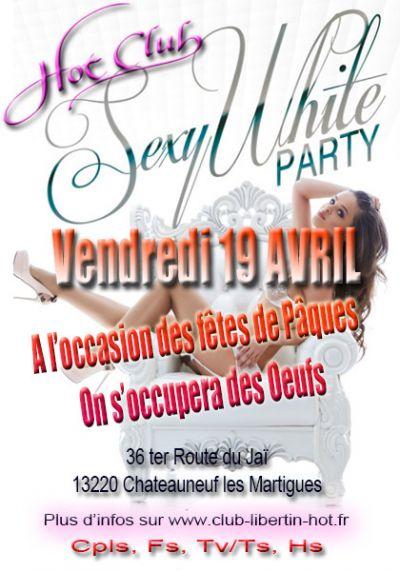 Soirée sexy white party